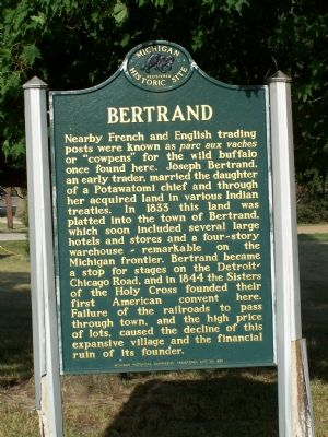 Bertrand Marker image. Click for full size.