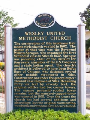 Side Two of Wesley United Methodist Church image. Click for full size.