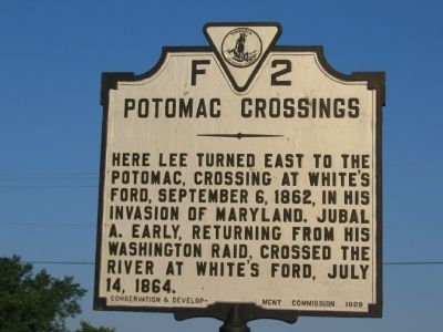 Potomac Crossings Marker Photo, Click for full size