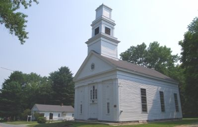 Abington Meeting House (1751) image. Click for full size.