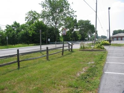 Roadside Location of the Marker image. Click for full size.