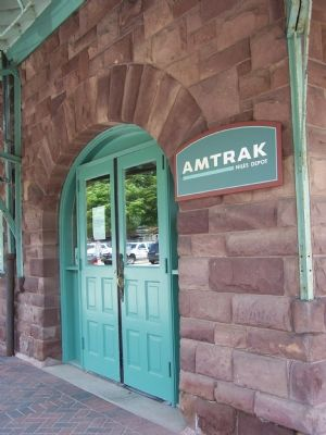 Today the Depot is the Amtrak Station Photo, Click for full size