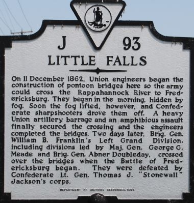 Little Falls Marker image. Click for full size.