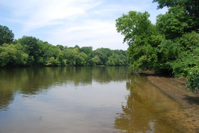 The Rappahannock River near Little Falls image. Click for full size.