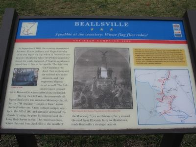 Beallsville Marker Photo, Click for full size