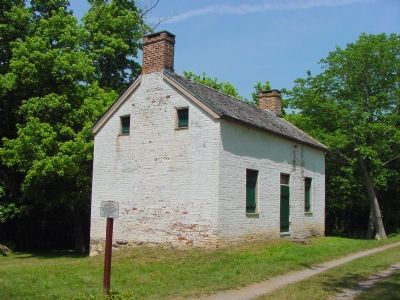 Lockkeeper's House at Edward's Ferry image. Click for full size.