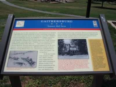 Gaithersburg Marker image. Click for full size.