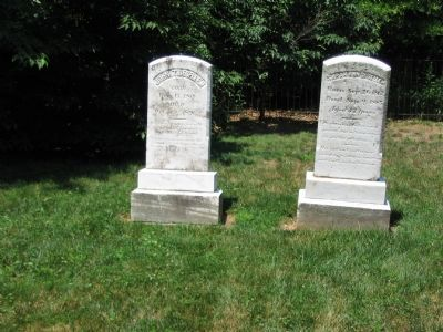John T and Sarah Ann DeSellum Tombstones image. Click for full size.