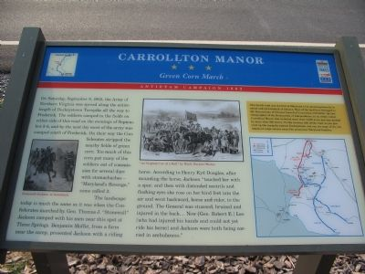 Carrollton Manor Marker image. Click for full size.