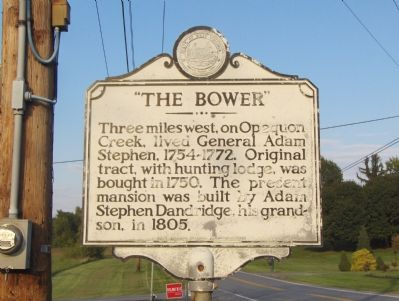 """The Bower"" Marker image. Click for full size."