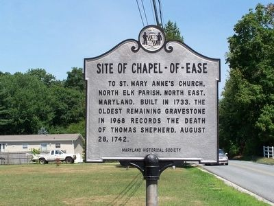 Site of Chapel-of-Ease Marker Photo, Click for full size