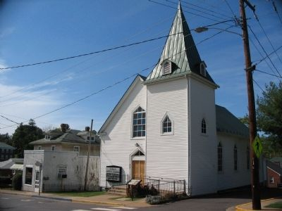 Historic Antioch Baptist Church image. Click for full size.