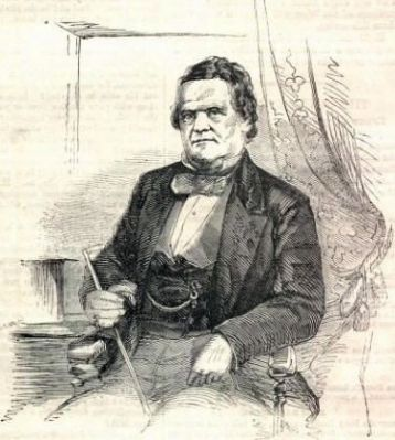 Francis W. Pickens<br>(1805&#8211;1869) image. Click for full size.