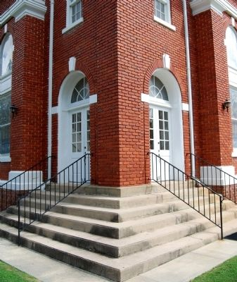 First Baptist Church Front Entrance image. Click for full size.