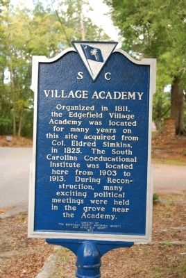 Village Academy Marker Photo, Click for full size