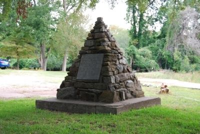 Original Site of Furman Academy Monument image. Click for full size.