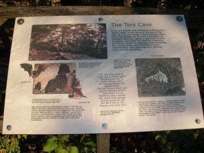 The Tory Cave Marker image. Click for full size.