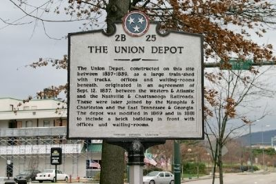 The Union Depot Marker image. Click for full size.