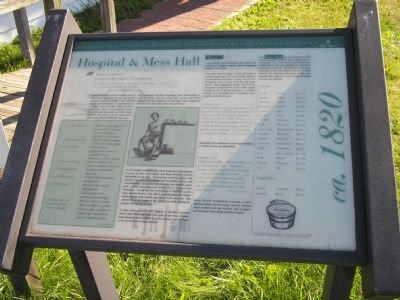 Hospital & Mess Hall Marker image. Click for full size.
