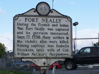 Fort Neally Marker image. Click for full size.