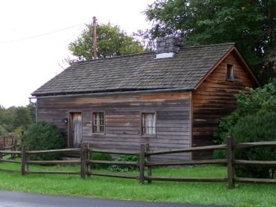 Colonel Morgan Morgan log cabin replica