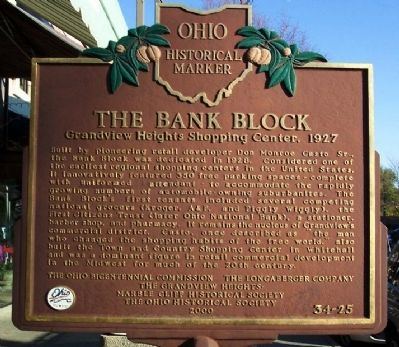 The Bank Block Marker image. Click for full size.