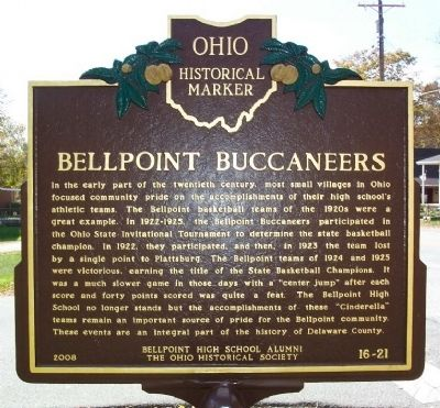 Bellpoint Buccaneers (side A) image. Click for full size.