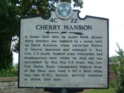 Cherry Mansion Marker image. Click for full size.