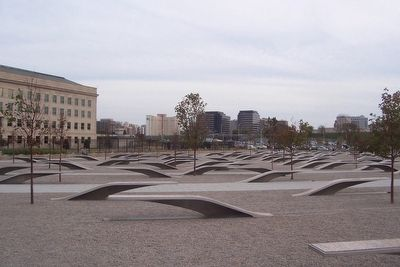 Pentagon Memorial image. Click for full size.