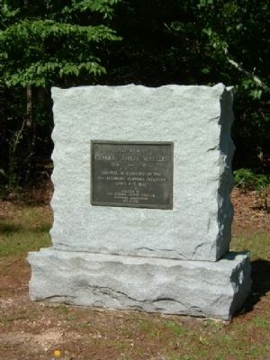 19th Alabama Monument image. Click for full size.
