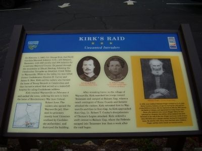 Kirk's Raid Marker Photo, Click for full size