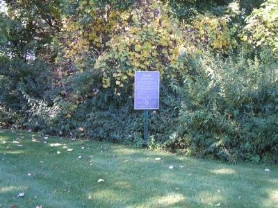 Marker on Ramapo Valley Road image. Click for full size.