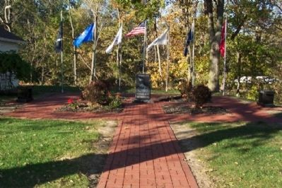 Lockbourne Veterans' Memorial image. Click for full size.