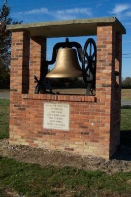 Concord United Methodist Church Bell image. Click for full size.