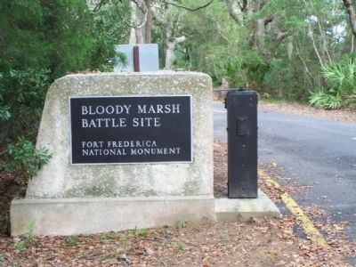 Battle of Bloody Marsh Battle Site - A Clash Of Cultures image. Click for full size.
