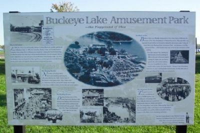 Buckeye Lake Amusement Park Historical Marker