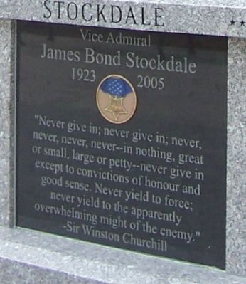 Stockdale Marker - Panel 1 image. Click for full size.