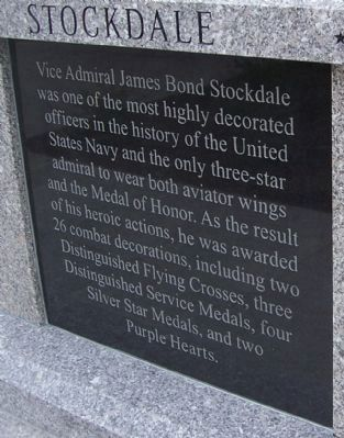 Stockdale Marker - Panel 2 image. Click for full size.