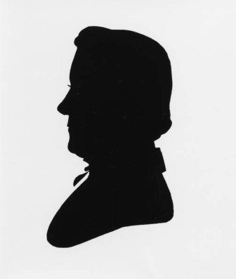 Luther Rice Silhouette image. Click for full size.