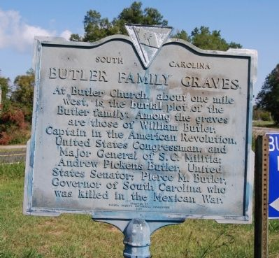 Butler Family Graves Marker image. Click for full size.