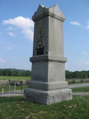 141st Pennsylvania Infantry Monument Photo, Click for full size