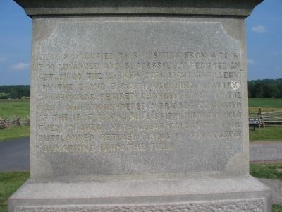 Left Inscription image. Click for full size.