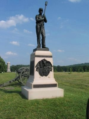 Battery F, Pennsylvania Light Artillery Monument image. Click for full size.