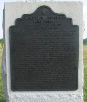 Third Corps Tablet image. Click for full size.