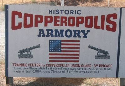 Historic Copperopolis Armory image. Click for full size.