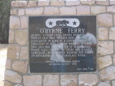 O'Bryne Ferry Marker image. Click for full size.