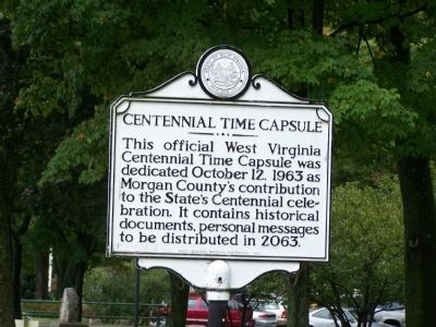 Centennial Time Capsule Marker image. Click for full size.