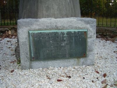 Washington Light Infantry Monument Marker Photo, Click for full size