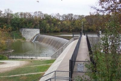 Griggs Reservoir Dam image. Click for full size.