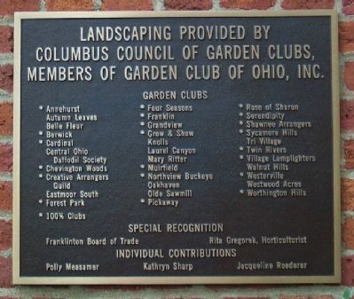 Landscaping Marker image. Click for full size.